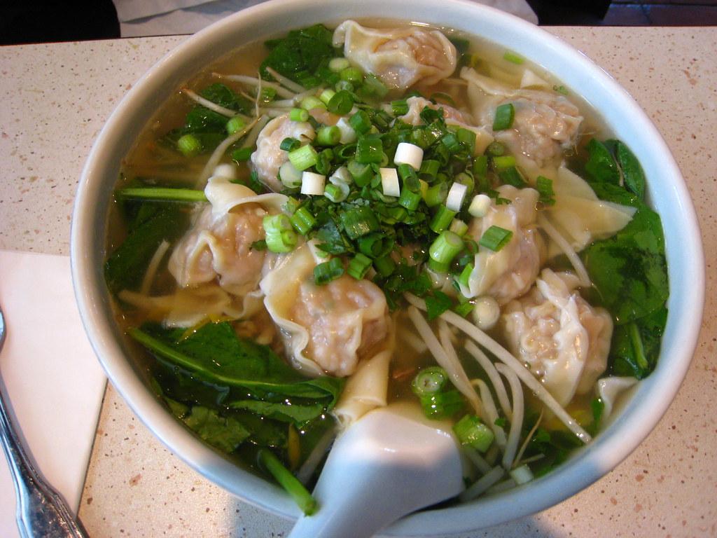 shanghai wonton noodle soup  aurora100  flickr