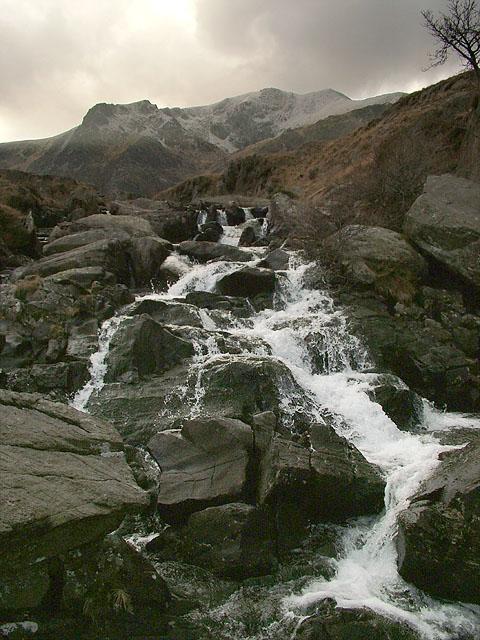 Y Garn, Cwm Idwal, Snowdonia, Gwynedd, UK