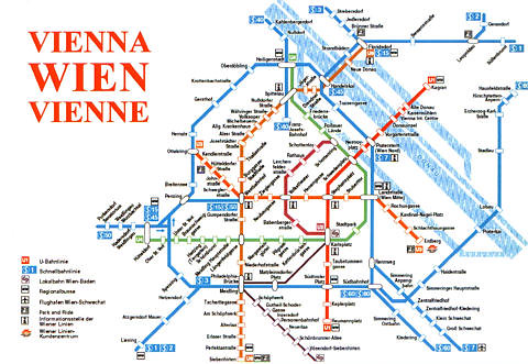 Vienna Subway Map.Vienna Subway System Map Kotarana Flickr