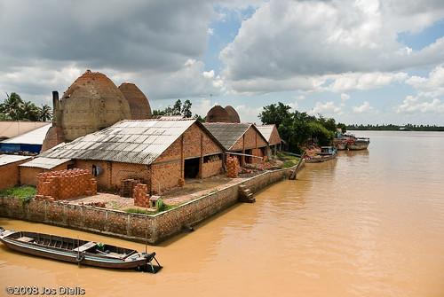 Fietstocht Mekong - Vinh Long   by Jos Dielis