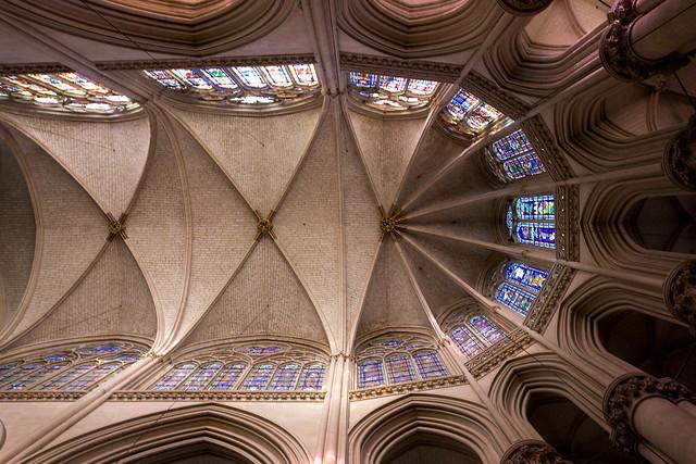 Le Mans Cathedral Choir Vaults