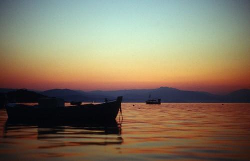 blue orange night analog sunrise nacht greece griechenland sonnenaufgang x300 tolon peloponnes