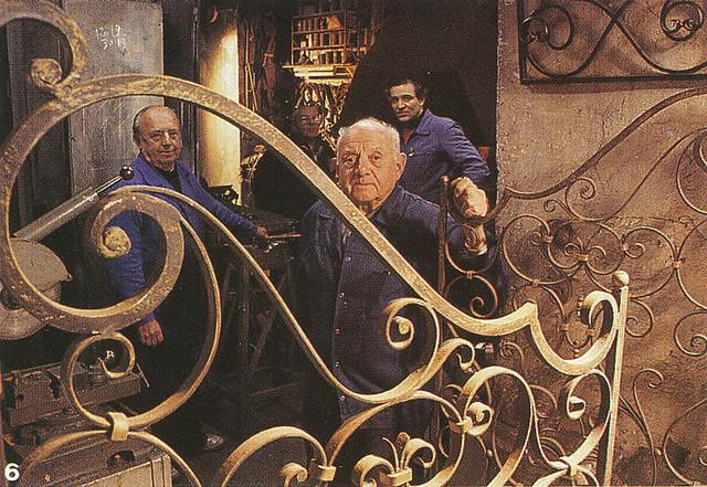 Les frères Dalbéra, ferronniers d'art à Nice