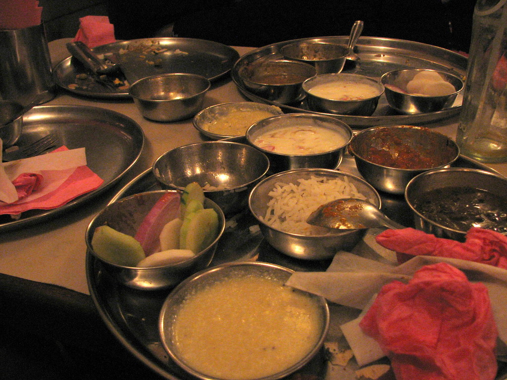 Christmas In India Food.Christmas Eve Dinner Indian Food In Jaipur India Flickr