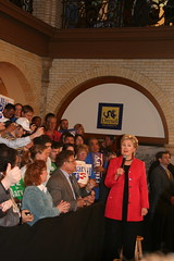 Hillary at Drexel