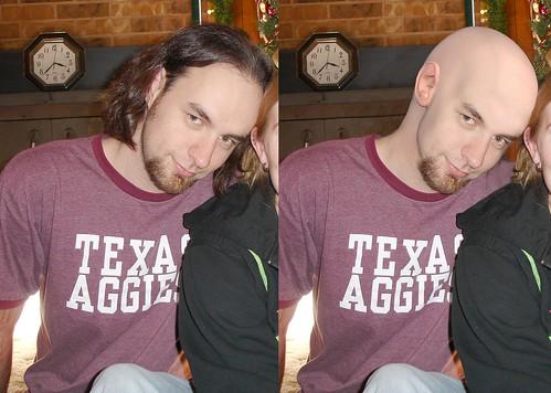 college me photoshop university bald beforeandafter shavedhead shopped photomorph shouldishave girlfriendwantmetoshave