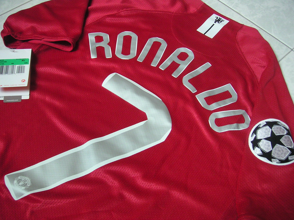size 40 b2308 bcd39 Manchester United Jersey Ronaldo #7 Champions League | Flickr
