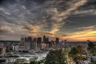 Cincinnati sunset | by haglundc