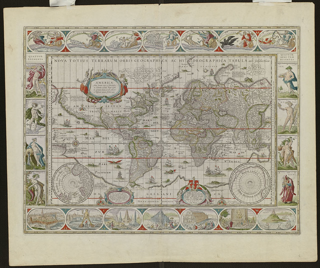 Noua totius terrarum orbis geographica ac hydrographica ta ... on proportional symbol map, isoline map, azimuthal map, ortelius map, conical map, thematic map, gall peters map, fuller map, peters projection map, chloropleth map, flow line map, cylindrical map, latitude map, polar map, robinson map, conic map, mollweide projection map, gnomic map, equal area map, physical map,