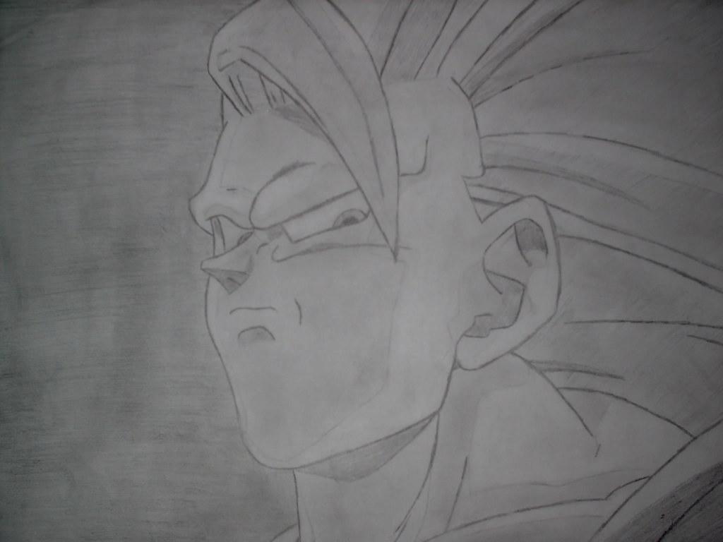 Goku Super Saiyan 3 Close Up Aaron2323 Flickr
