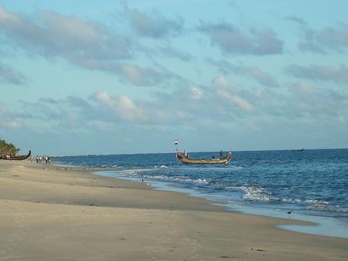 Fishing boats at Marari Beach | by nborun