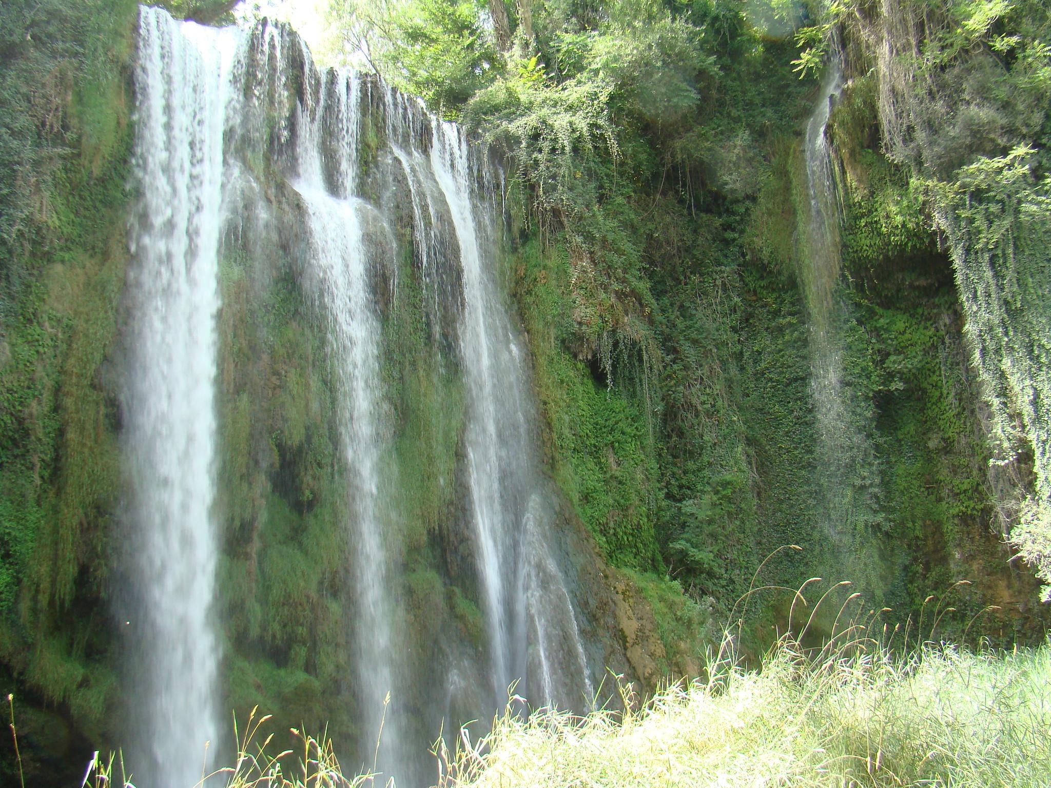 Cascada La Caprichosa Parque del Monasterio de Piedra Nuevalos Zaragoza