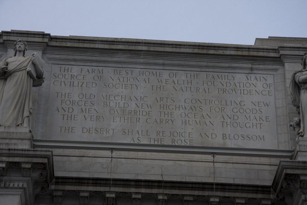 Union Station inscription