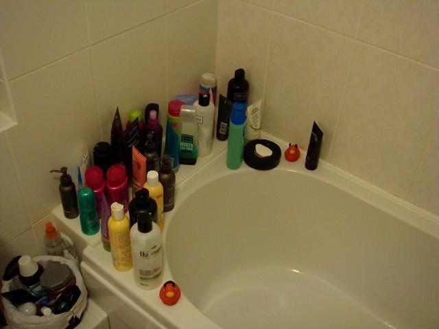 Shower paraphernalia