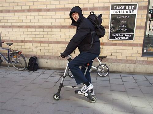 weakling-on-Viebke-seat-modded-A-bike   by kickrollator