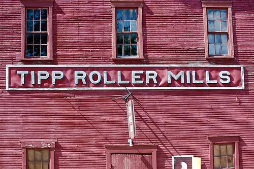 ohio sign typography tippcity