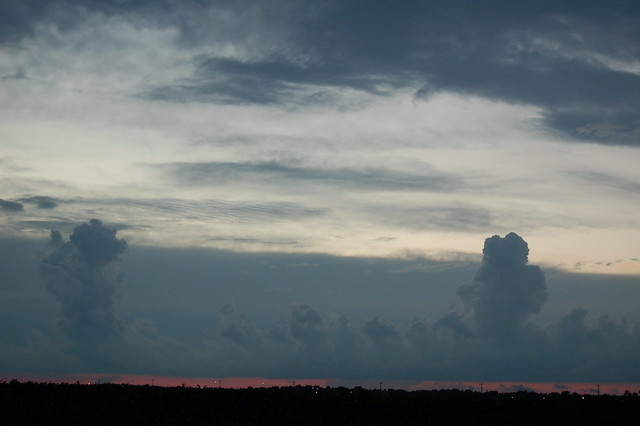 July 7, 2008 - Kool Cumulus & Sunset!