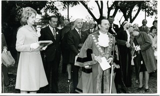 Mayor Dash with Sonia and William McMahon, April 22, 1971
