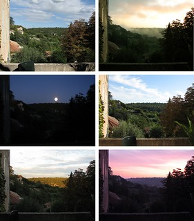 from our terrace in Uzes