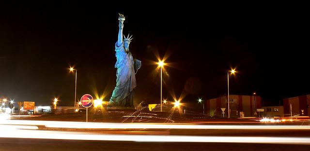 Colmar Liberty by night