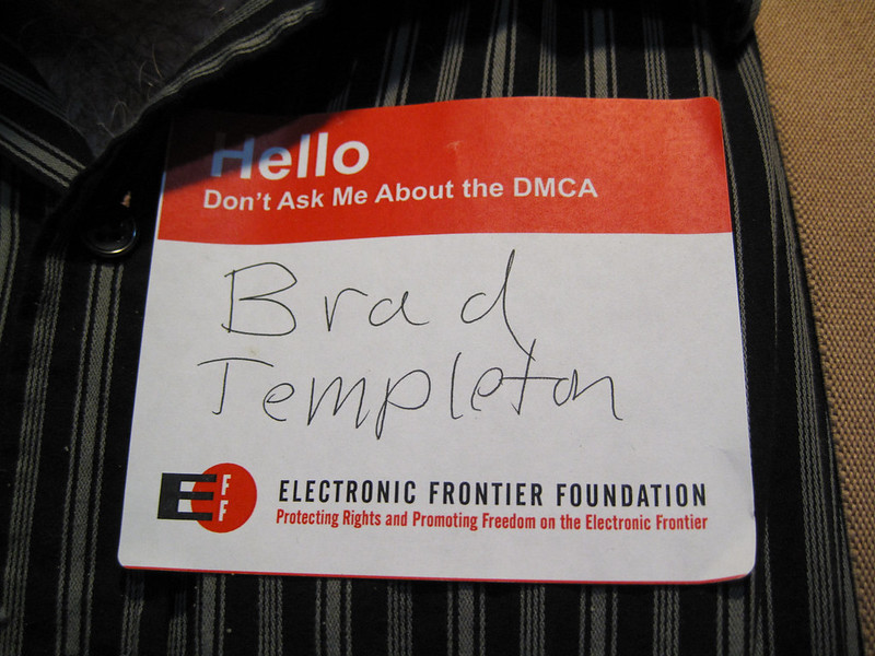 Don't Ask Me About the DMCA