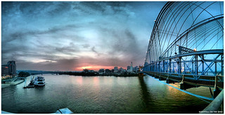 Nightfall on the Ohio | iPhoneography | by Richard Cawood