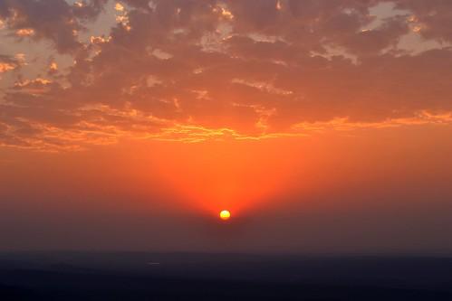 sunset sky orange nature clouds nikon