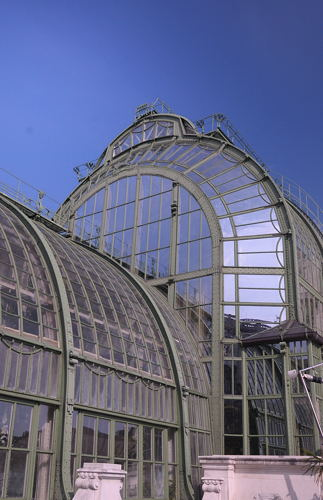 Wien - Vienna - City - Palmenhaus - Detail
