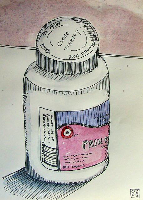 Pain - Moleskine