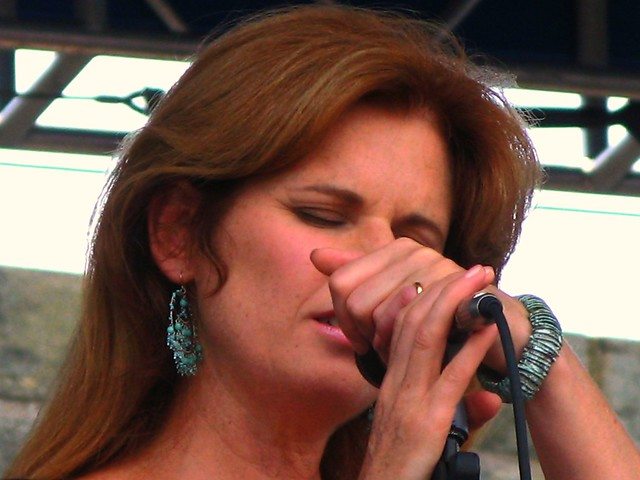 Margo Timmins of the Cowboy Junkies - Newport 2008