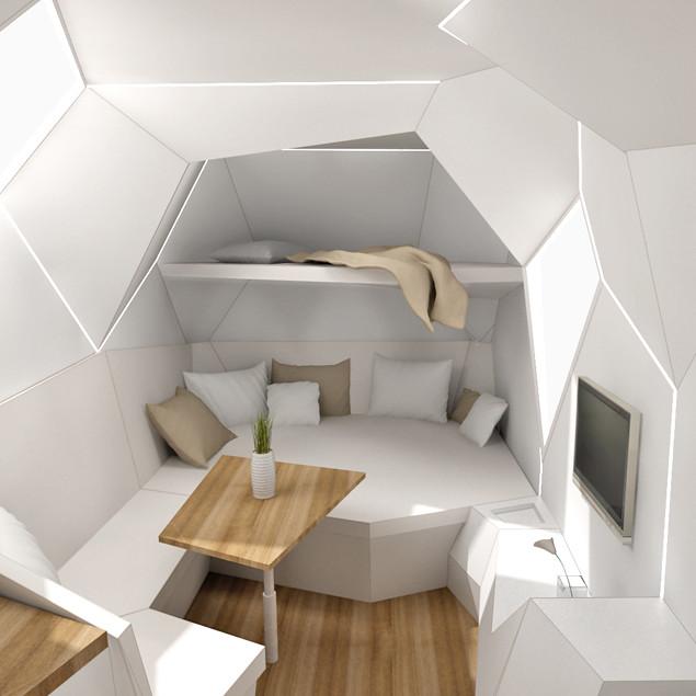 Mehrzeller Concept interior
