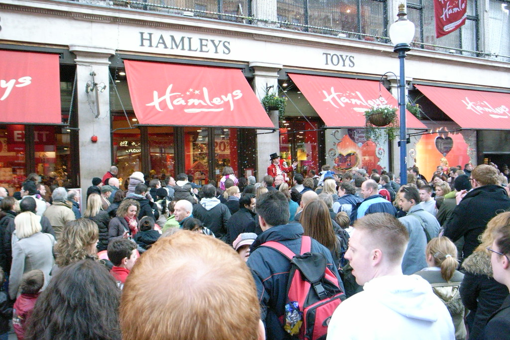 hamleys cristmas season
