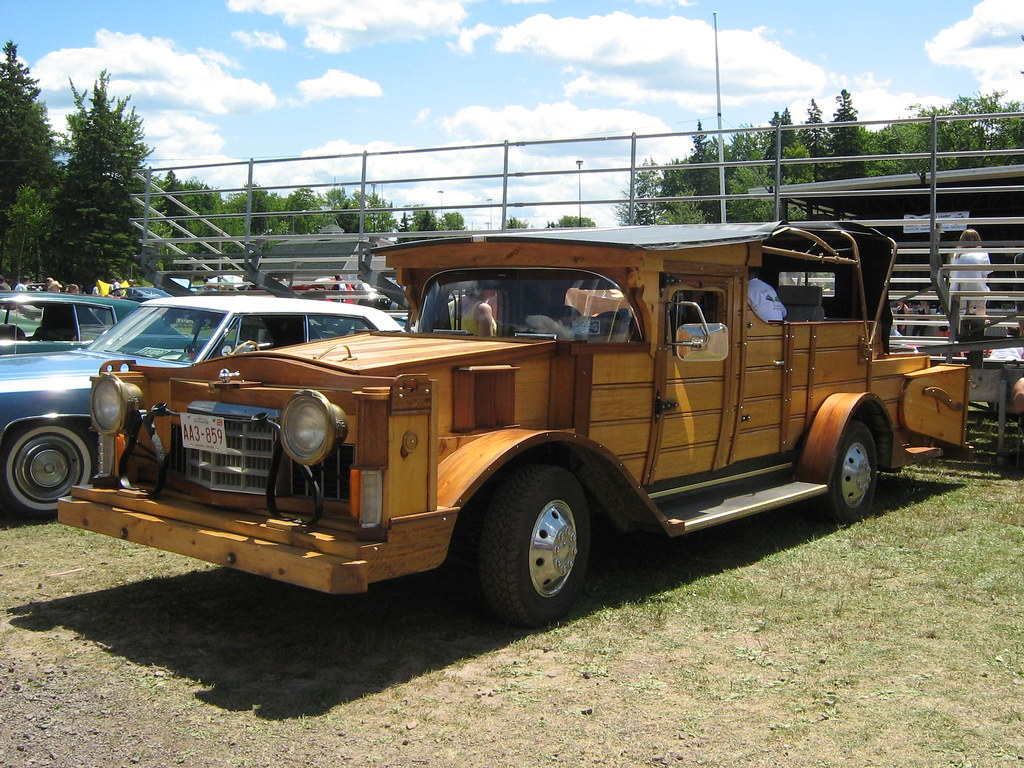 Homemade Street Legal Wooden Car The Body Of This Huge S Flickr