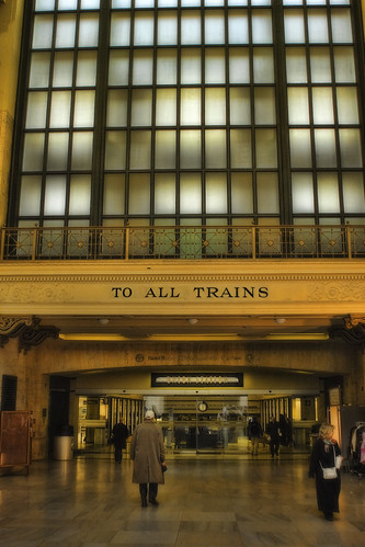 ...to all trains. Chicago, IL | by Chris Richards1
