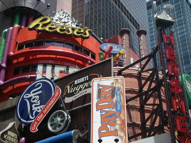 Hershey Store in Times Square