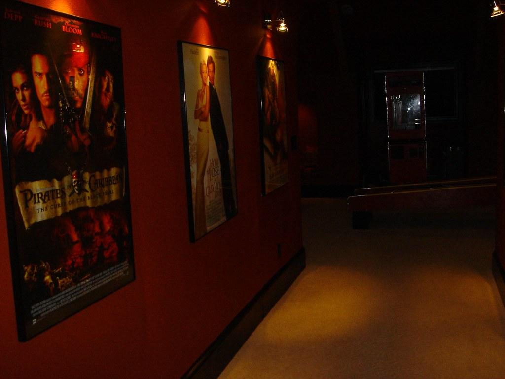 Movie Theatre Hallway Marksizemore Flickr