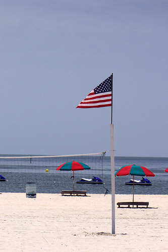 blue red white beach gulfofmexico umbrella mississippi sand flag volleyball 2008 gulfport 3146 z712is