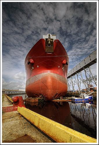 red nikon ship novascotia harbour vessel d200 halifax hdr oiltanker dockyard sigma1020mm supershot flickrsbest abigfave anawesomeshot colorphotoaward impressedbeauty thatsclassy theperfectphotographer goldstaraward kometik rubyphotographer damniwishidtakenthat peir22