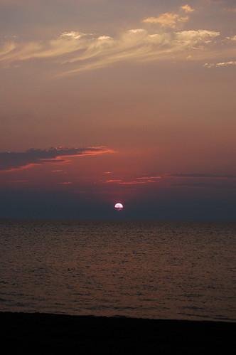 sunset lake ontario canada beach geotagged hillsboro geo:lat=43113954 geo:lon=82092934