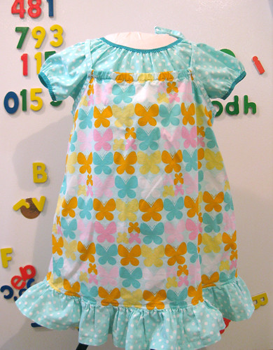 butterfly pinafore with top | by colorkitten