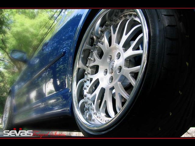 VW R32 on Sevas Forged R22 Wheels | WWW SEVASFORGED COM