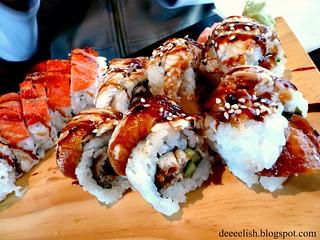 Dragon Roll at Ken Japon Bistro   by deeeelish