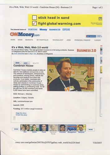 michael j sikorsky - cnn money | by killingmichael