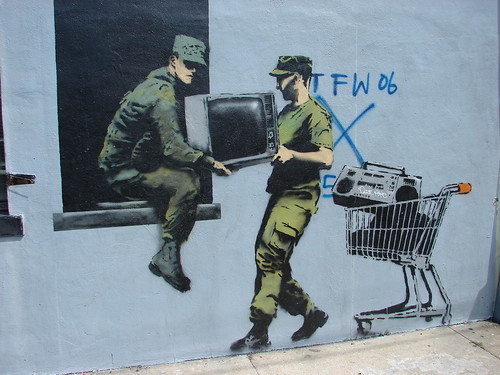 Banksy Art in New Orleans | by Mark Gstohl