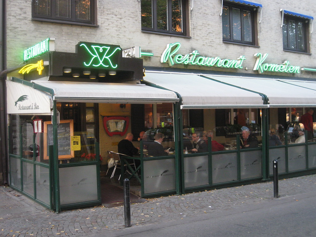 Restaurant Kometen | In english the name means The Comet as