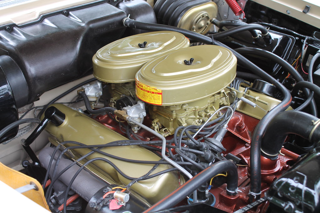 Plymouth 350 Golden Commando V8 Engine | From a 1958 Plymout… | Flickr
