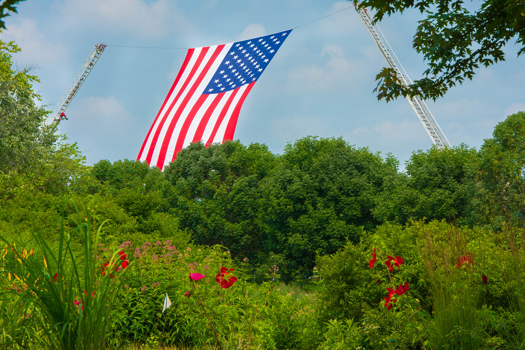 Independence Day in St. Louis' Forest Park