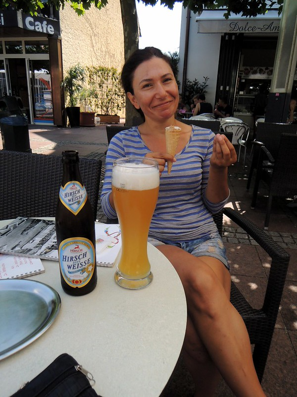 Ice cream and beer at the same time by bryandkeith on flickr