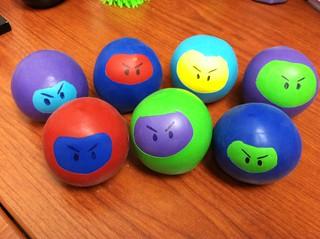 Ninja Stress Balls 1 | by Harris County Public Library