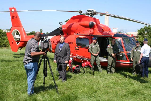 Interviews on SARSAT Media Day